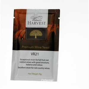 Homemade Wine Yeast VR21 Full Fruit Varietal and Country Red. FREE POSTAGE (Australia Only)