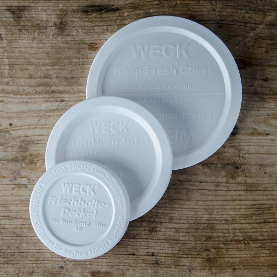 Lid Keep Fresh Snap On Cap Small Suit Weck Preserving Company (Germany) Food Preserving Jars BPA FREE