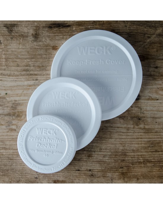 Lid Keep Fresh Snap On Caps Large (100mm) Suit Weck (weck-keep-fresh-large)