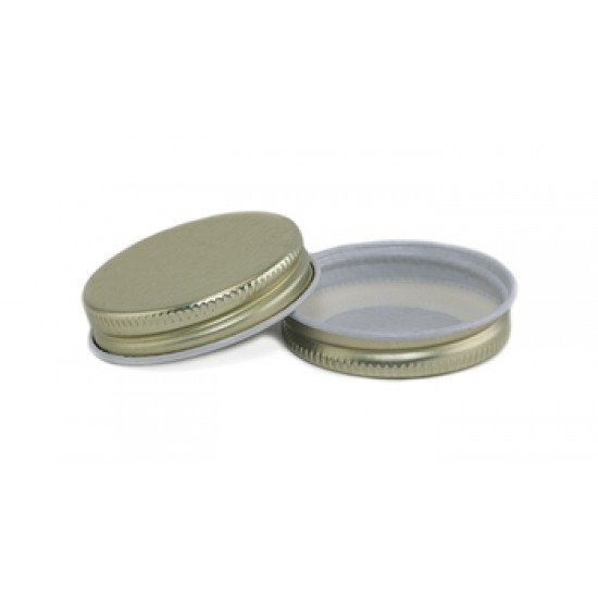 Lid One Piece Screw Top 43 mm Canning and Preserving (c01043)