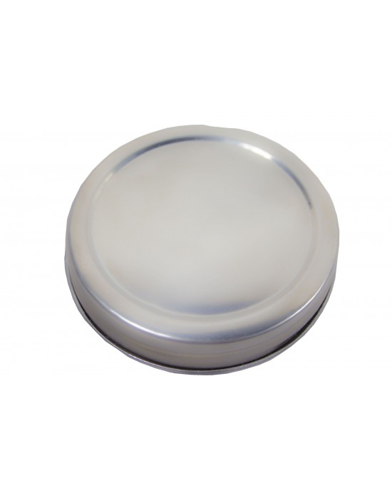 Lid Stainless Steel 70mm Regular Mouth With Food Grade Silicone Seal x 1 (SS lid RM)