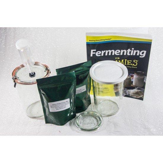 Ozi Complete Fermenting Kombucca Pickling Kit - Perfect Starter Kit