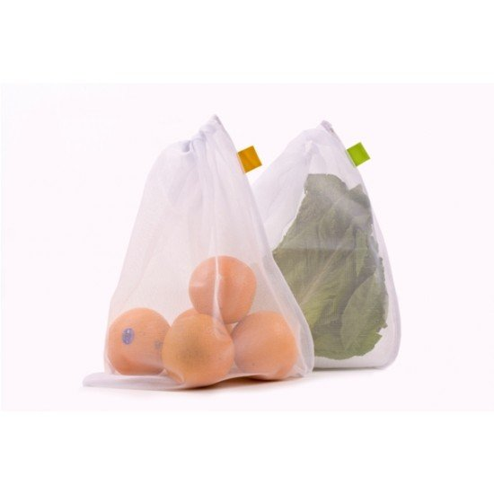 Reusable Mesh Fruit Storage Bags (pack of 5) FREE POSTAGE (Australia Only) (3650)