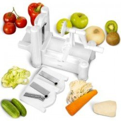 Spiral Vegetable Slicer with 3 Blades