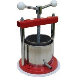 Stainless Steel Wine Fruit Cheese Press Italian Made Quality.