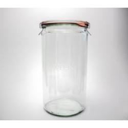 6 x 1.5 Litre Cylinder Jar WECK - 974