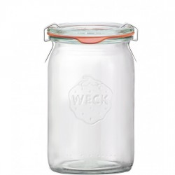12 x 140ml Super Mini Cylinder Jars WECK - 789
