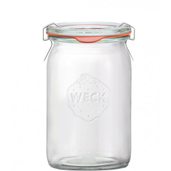 12 x 140ml Super Mini Cylinder Jars WECK - 789 (789 case)