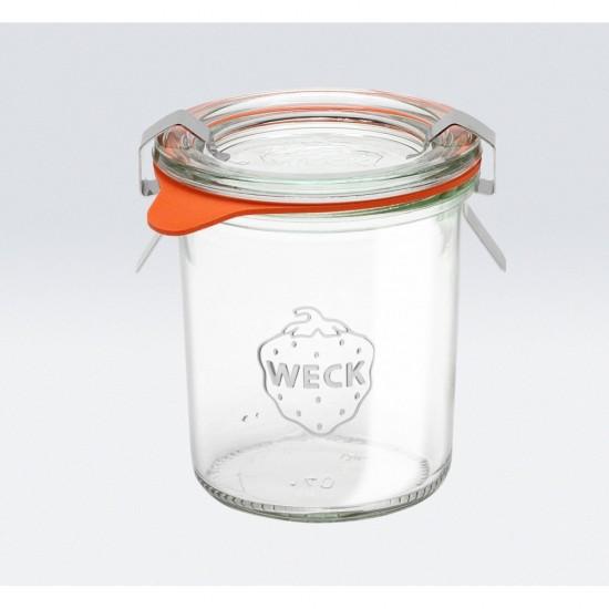 12 x 140ml Weck Mini Tapered Jars  - 761 (761 case)