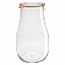 1 x 1750ml Tulip Jar Complete - 738 Weck