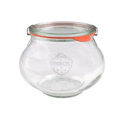 12 x 220ml Weck Deco Jars - 902