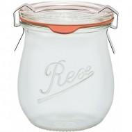 1 x 220ml Weck Rex Mini Tulip Jar  Complete - Single Rex R01220