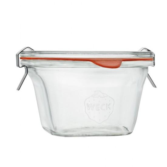290ml Weck Quadro Jar - 768 (768exw)