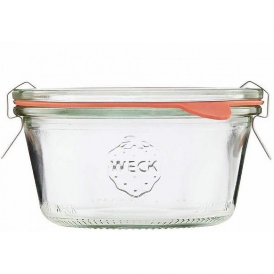 1 x 300ml Tapered Jar Complete - 750 Weck (750)