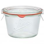 1 x 370ml Weck Rex Tapered Jar  Complete - Single R01370