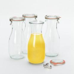 6 x 1/2 litre Weck Juice Jar - 764