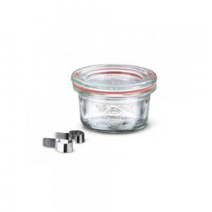 12 x 50ml Mini Tapered Weck Jar - 755