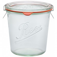 1 x 850ml Weck Rex Tapered Jar Complete  - R01850