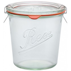 1 x 850ml Weck Rex Tapered Jar Complete  - R01850