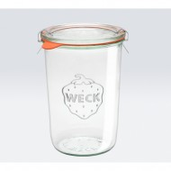 6 x 850ml Tapered Jar - 743 WECK