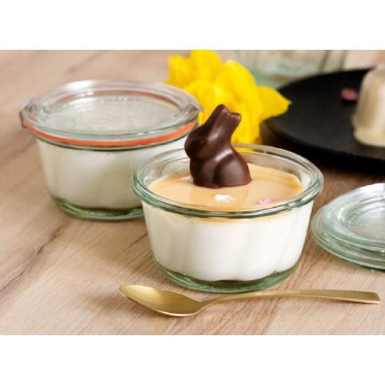 1 x 280ml Gugelhupf Bundt Cake Jar Complete - Single WECK 568 (568exw)