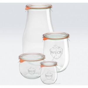 12 x 220ml Weck Mini Tulip Jars - 762