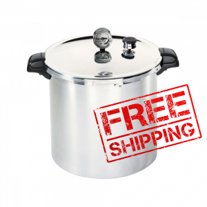 23 quart Pressure Canner / Cooker Presto Induction, Gas, And Electric Compatible  PREORDER FOR LATE OCTOBER/ EARLY NOVEMBER DELIVERY